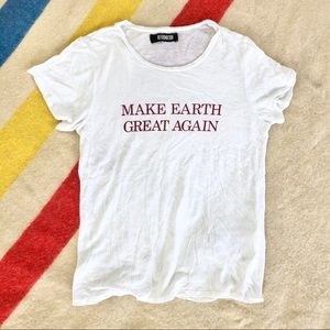 Reformation Make Earth Great Again tee